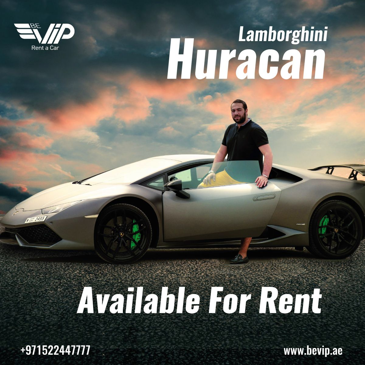 Be Vip Rent A Car In Dubai Offers The Most Exclusive Luxury And Sports Cars In Dubai Call 00971522447777 Sports Car Rental Car Rental Rent A Car