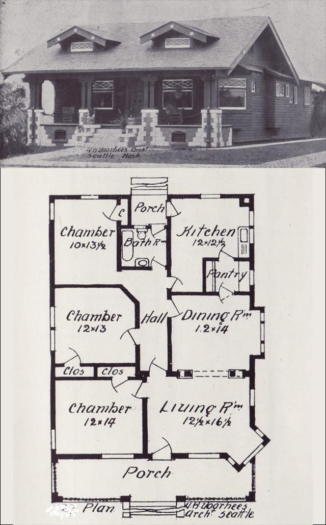 early 1900\'s floor plans - would be a great lake house | Floor ...