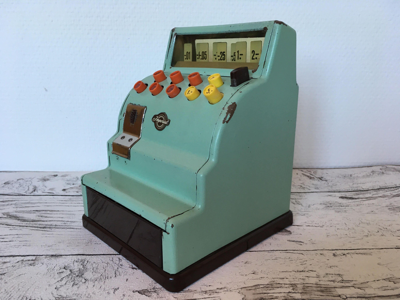 Vintage Metal German Toy Imperial Cash Register 60s TCO Tipp U0026 Co TippCo By  LieberVintage On