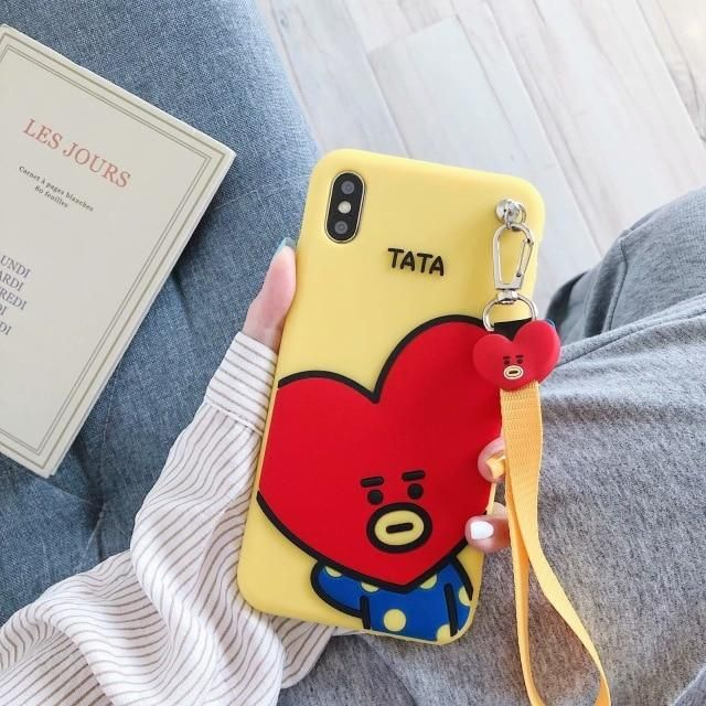 BT21 Cute Phone Case (With images) Cute phone cases