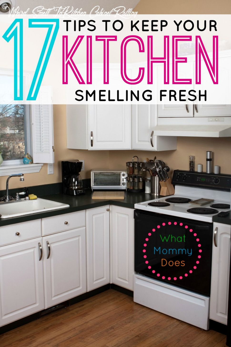 Weird Smell In Kitchen Cabinet Rotting In 2020 Kitchen Smells Kitchen Odor House Cleaning Tips