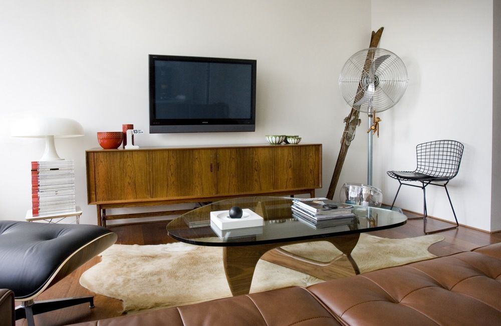 Moderne Mitte Jahrhundert Moderne   Loungemöbel