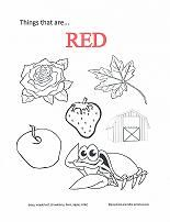 Preschool Coloring Pages Are A Great Way To Help Teach Colors Each Page Has Several Pictures Of Items That Typically One Color