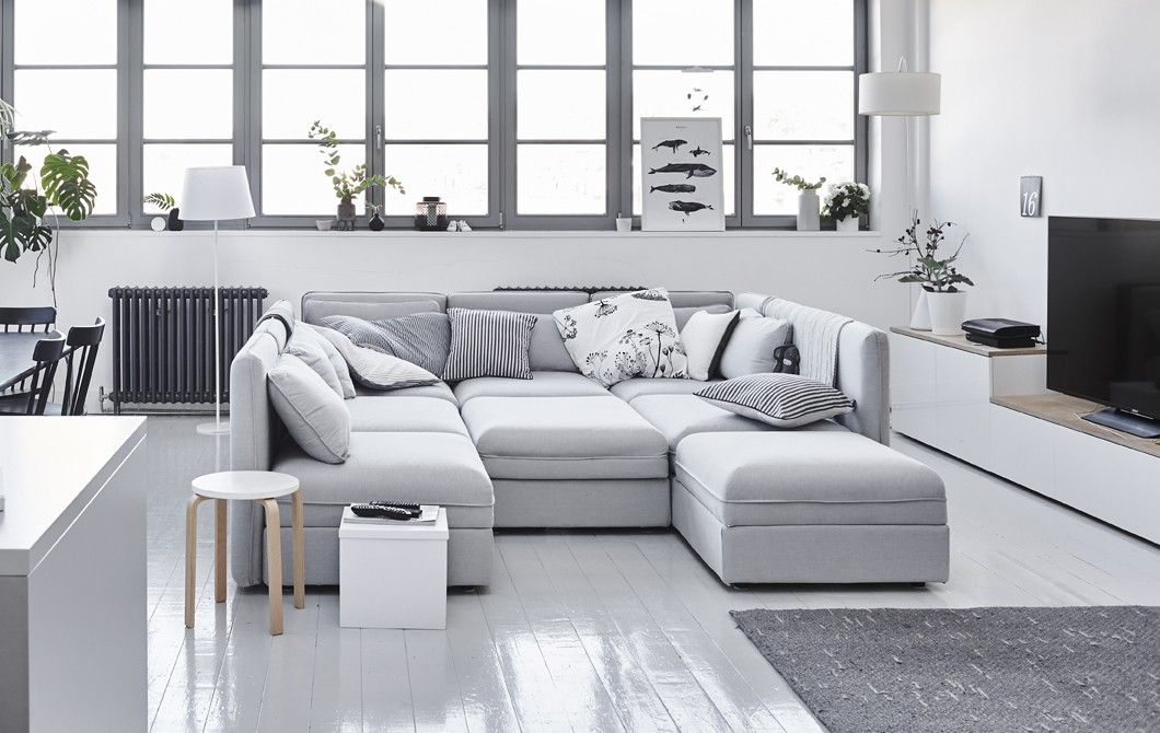 Pin von HOME decor auf Home decor | Modul sofa, Ikea ...