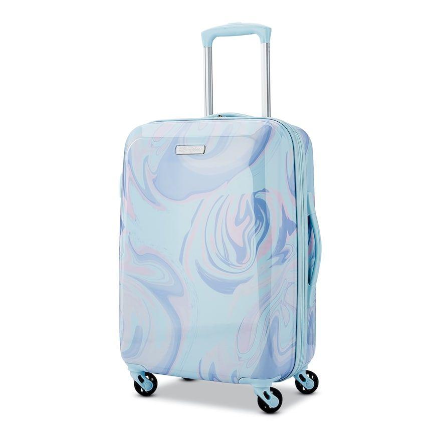 American Tourister Burst Max Printed Hardside Spinner Luggage Hardside Spinner Luggage Spinner Luggage Cute Luggage