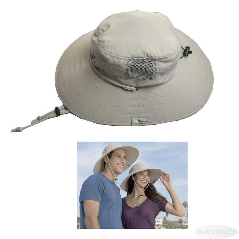 Sun Protection Zone Unisex Khaki Booney Hat (100 SPF 56ba5d3b0aeb