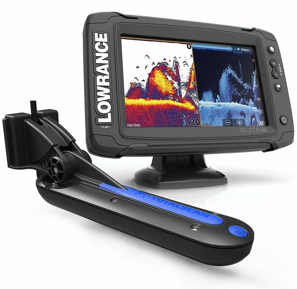 Ad Ebay Lowrance Elite 7 Ti Touch Gps Sonar With Totalscan Transom Transducer Navionic Fishing Tips Fish Finder Fun Sports