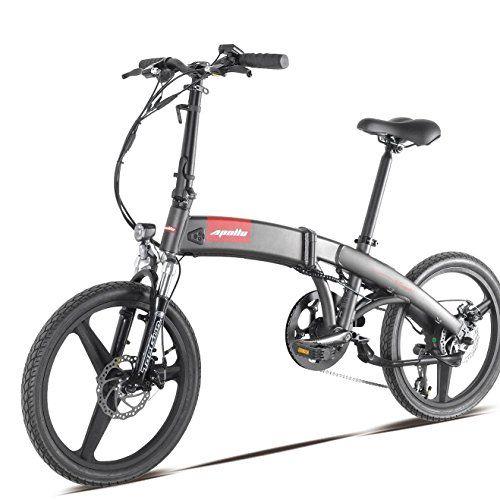 Smart S2 Folding E Bike 250 Watt High Speed Brushless Motor 36v