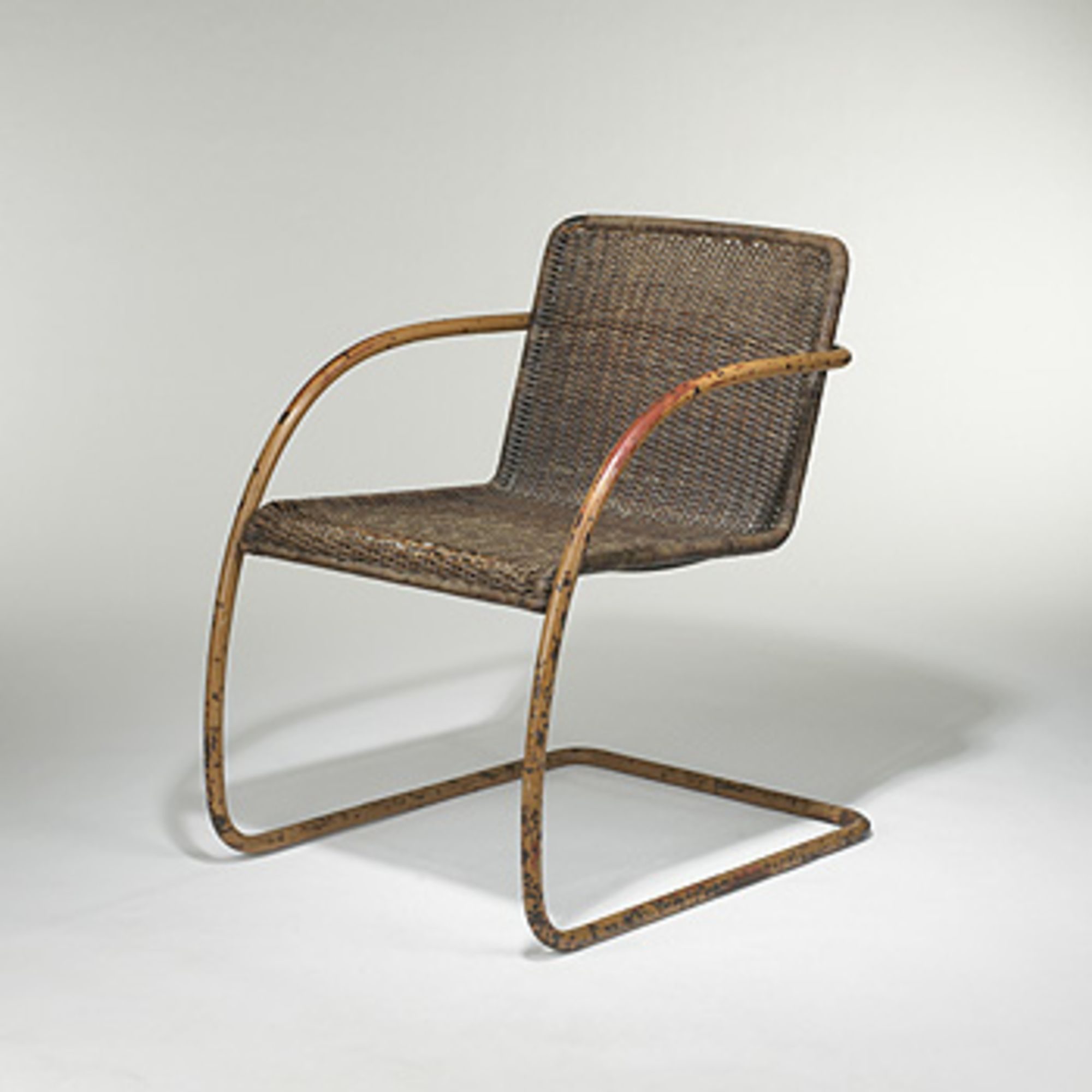 Ludwig Mies Van Der Rohe And Lilly Reich cantilever chair