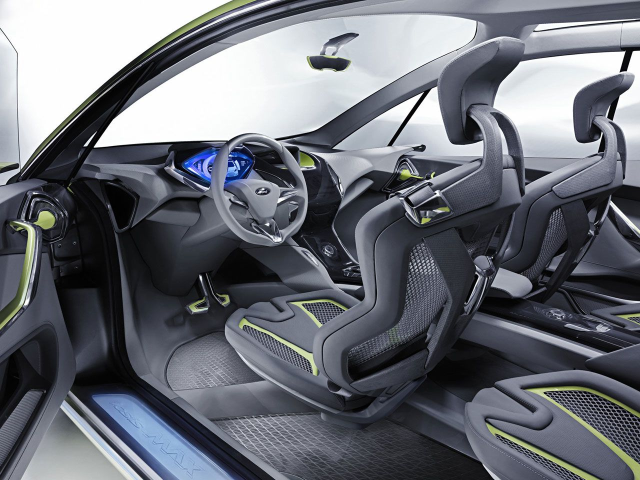 Ford Iosis Max Concept Interior Car Body Design Futuristic Cars Interior Concept Car Interior Car
