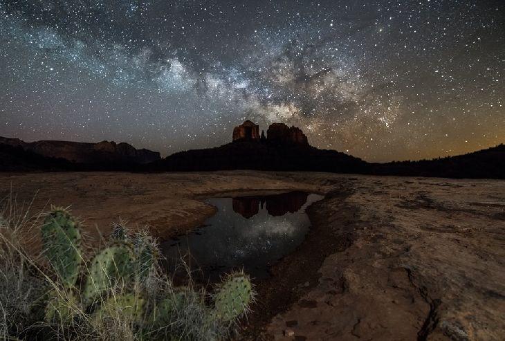 Milky Way @ Sedona, Arizona  - Taken by Cory Mottice