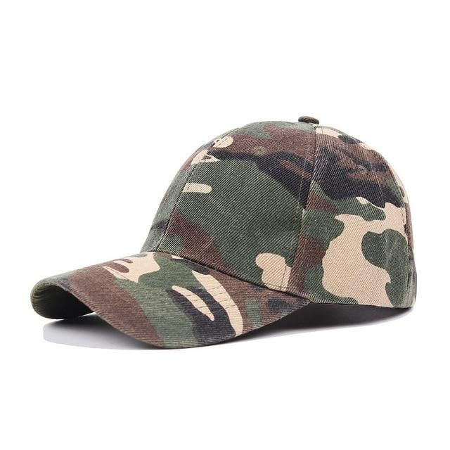 664495f584b Fashion 1PC Camouflage High Quality Police Cap Unisex Hat Baseball Cap Men  Snapback Caps Adjustable Sports