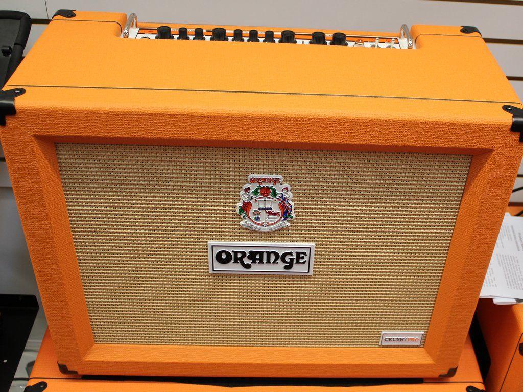 2017 Orange Amplifiers Crush Pro CR120C 120W 2x12 Guitar