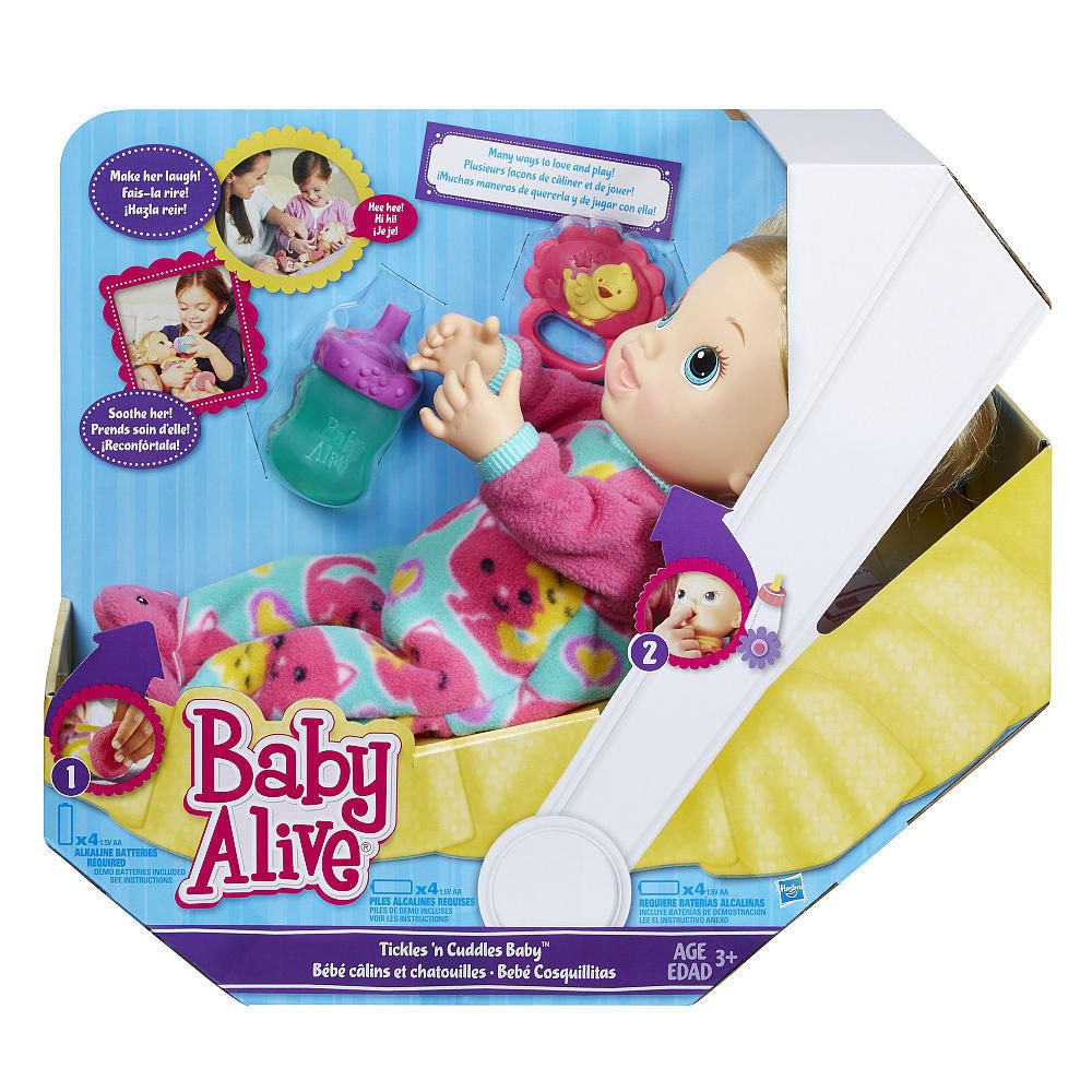 Baby Alive Doll Demo