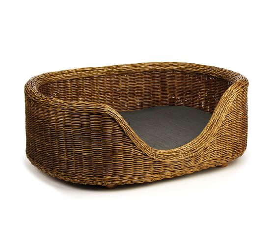 Burma Rattan Pet Bed Dog bed, Dog bed sizes