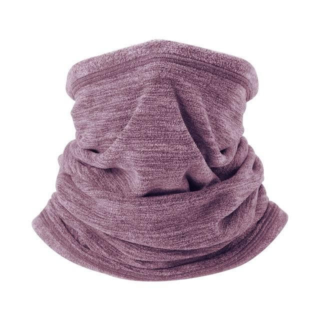 Cold Weather Fleece Thermal Neck Warmer Gaiter Winter Windproof Half Face Mask