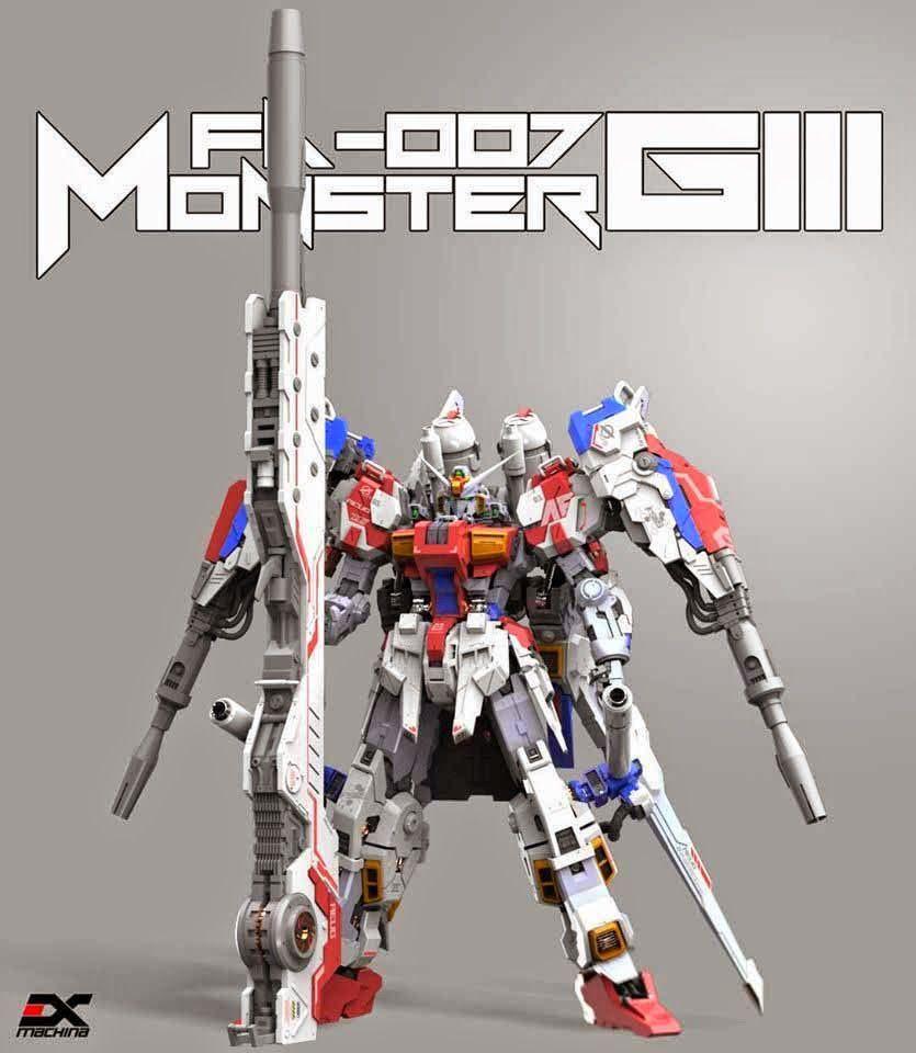 Ex Machina 160 Fa 007giii Full Armor Gundam Mk Iii Release
