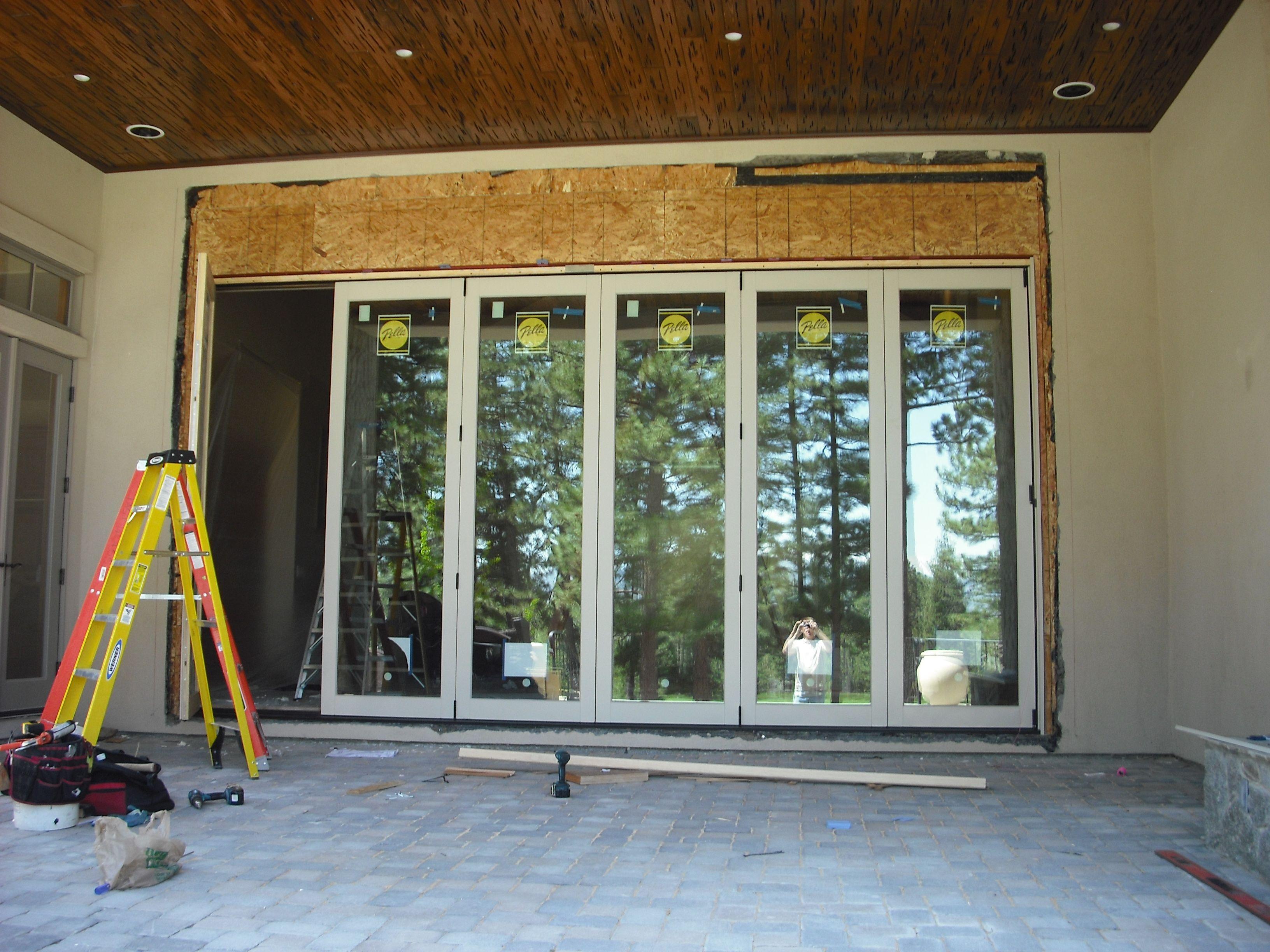 Pella BiFold Wood Doors  Pella Patio Doors  Doors