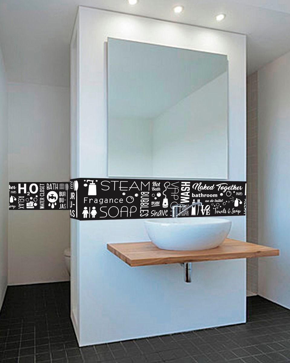 vinilos decorativos guardas baños mamparas azulejos 240x25   BAÑO ...