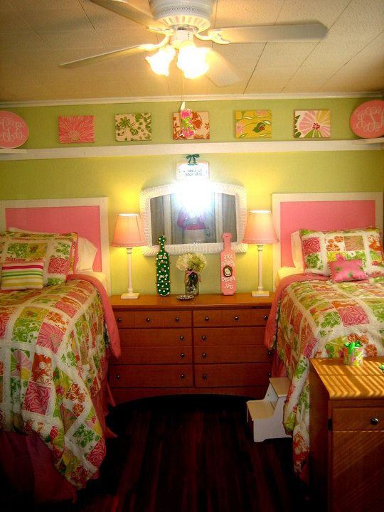lilly bedroom! I have to have a lilly room in my house! love the ...