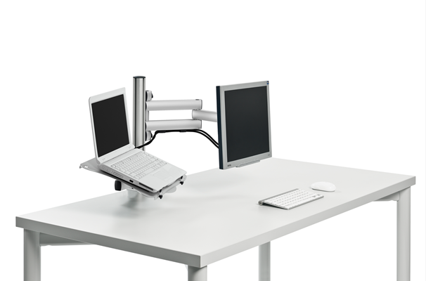 Laptop Holder And Monitor Arm | Laptop Stand | Desk Accessories