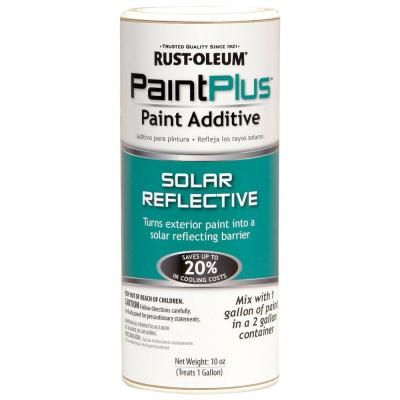 Rust Oleum 10 Oz Solar Reflective Energy Saver Paint Additive Case Of 6 262483 The Home Depot Paint Additive Energy Saver Solar Paint