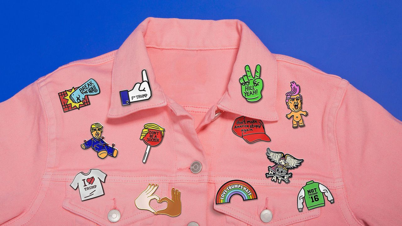 Pins Won't Save The World NYC-based design studioSagmeister & Walshalong with a slew ... - #clothing #design #jessica #sagmeister #stefan #Walsh