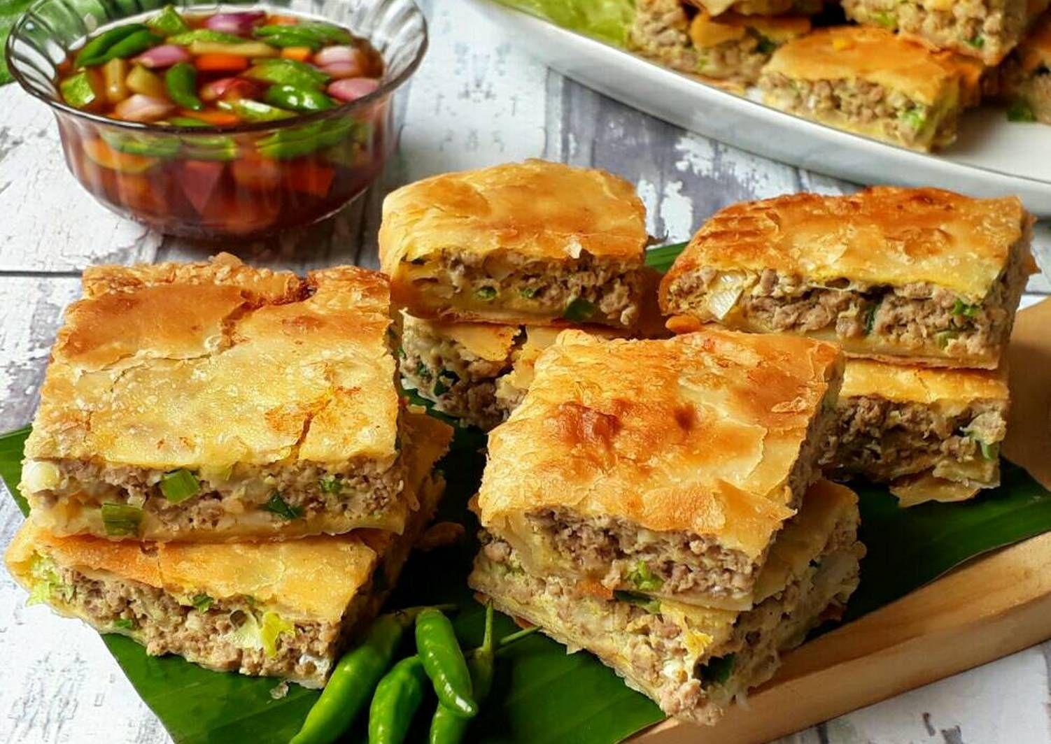 Resep Martabak Telur Martabak Mesir Oleh Sukmawati Rs Resep Resep Masakan Indonesia Resep Resep Masakan