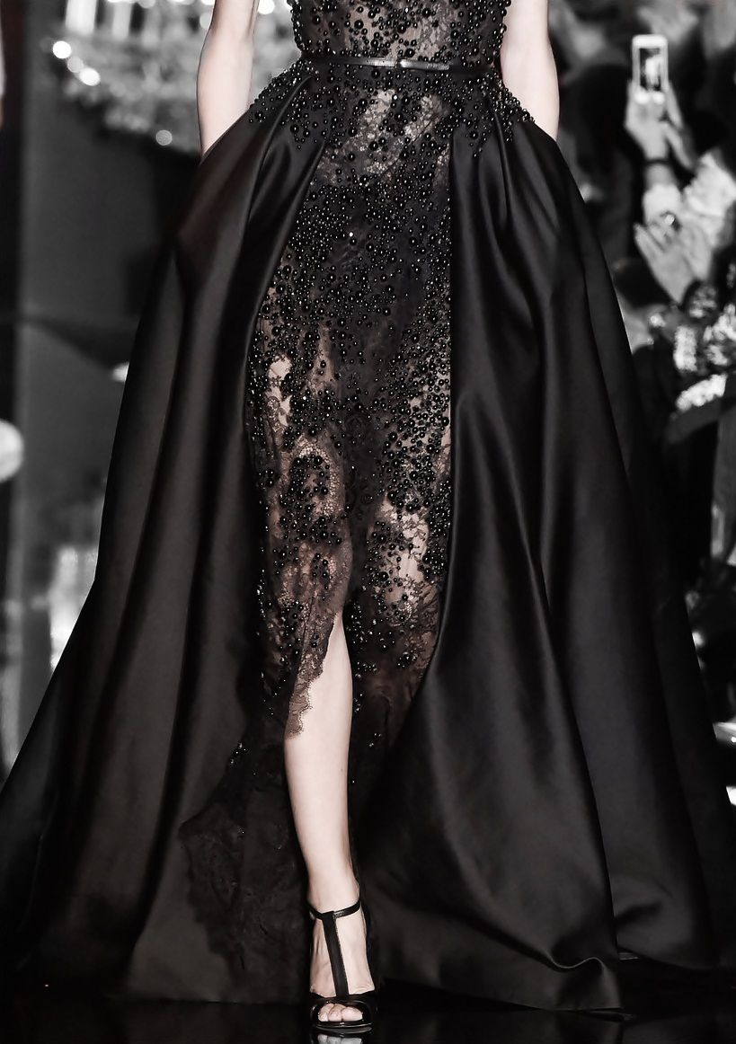 "whore-for-couture: ""tairadawn: ""Elie Saab Haute Couture Fall 2014 "" Haute Couture blog :) """