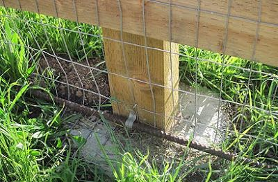 Bad Rap Blog March Is Fix Your Fence Month Using Rebar