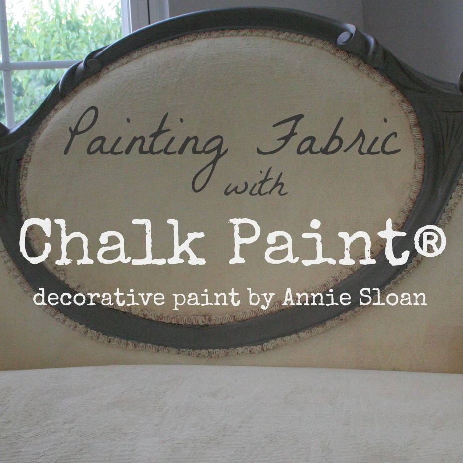 Chalk Painting Antique Settee Fabric is part of Painting fabric furniture - By now, most of you know about my obsession with Chalk Paint® Decorative Paint by Annie Sloan  You can paint almost anything with this wonder paint, and the bes…