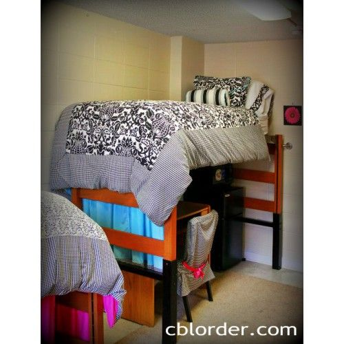 Customize Your Samford Dorm Room With A Bed Loft Bed Rail Rug And Safe Bed Dorm Room Dorm Rooms