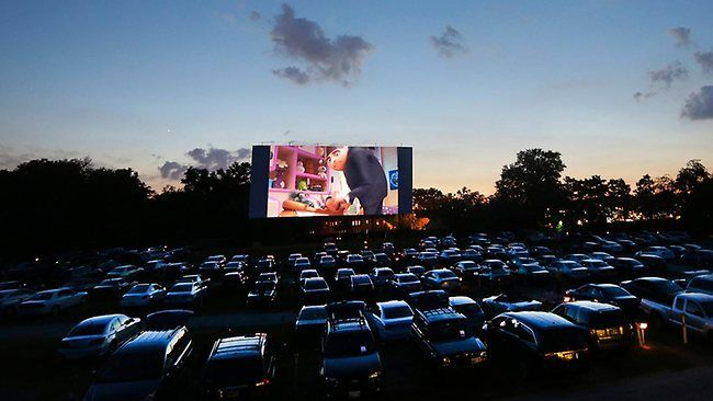 Family Drive In Movie Night In Edmonton July 8 Drive In Movie Drive In Movie Theater Movie Night