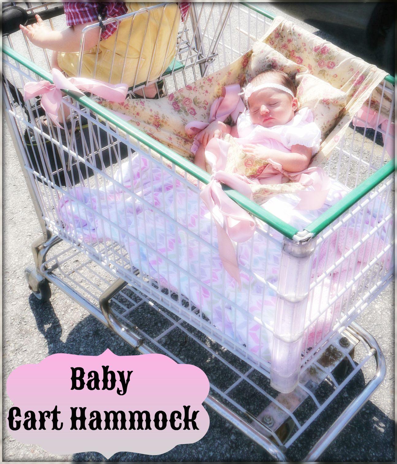 I Heart Violet Baby Shopping Cart Hammock