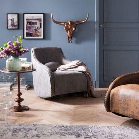 Grijze schommelfauteuil - Kare Design Swing Ritmo | Pinterest