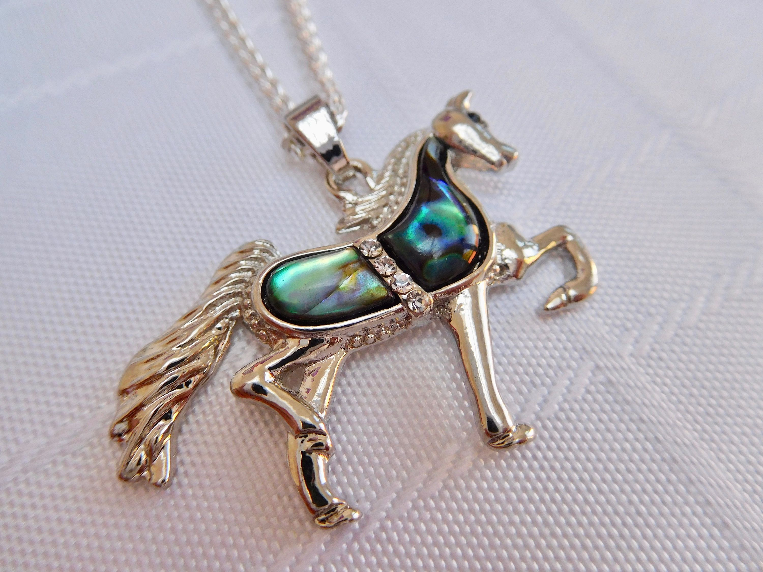 new head equestrian horse designs necklaces from pendants polished loriece angled and is necklace by high