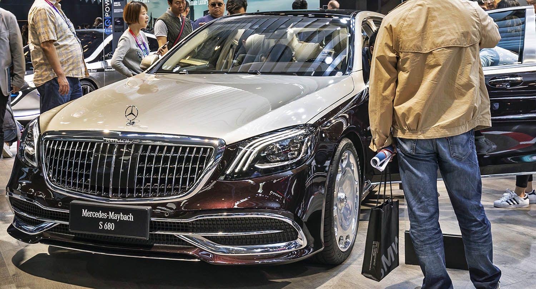 مرسيدس بنز أس كلاس مايباخ 2019 فخامة وتمي ز بلا حدود ونظام إضاءة ثوري موقع ويلز Benz S Class Maybach Benz