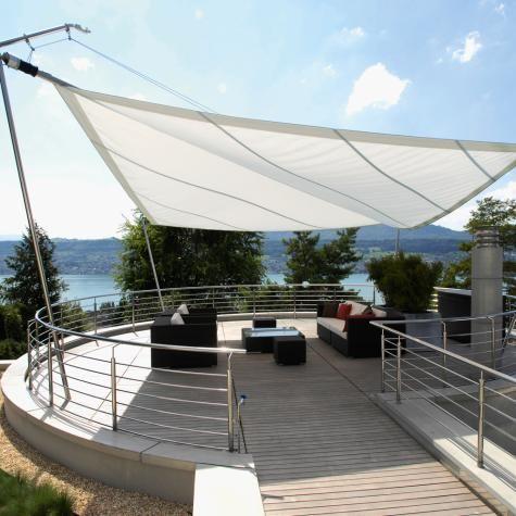 ein sunsquare sonnensegel ist ein rollsegel f r schatten und sonnenschutz sonnensegel. Black Bedroom Furniture Sets. Home Design Ideas