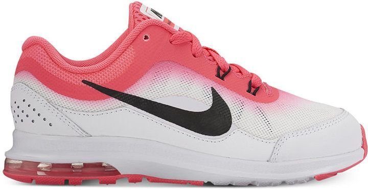 Nike Little Girls' Air Max Dynasty 2 Running Sneakers from