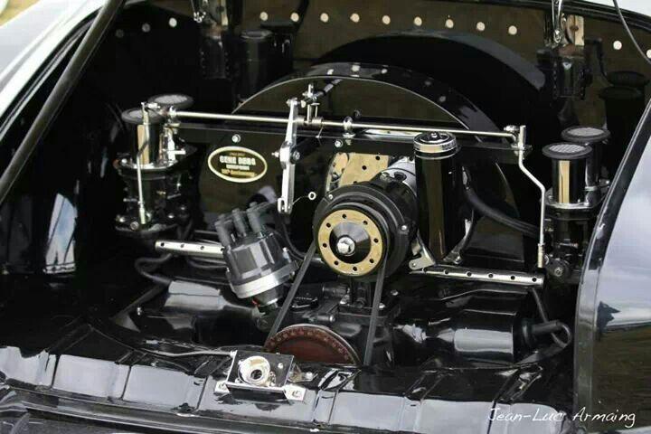 Clean engine bay vw engine vw aircooled vintage vw