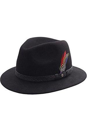 d07b7cd894db3 Hombre Sombreros - Stetson Sombrero fedora hombre Hillsdale Woolfelt -  talla L