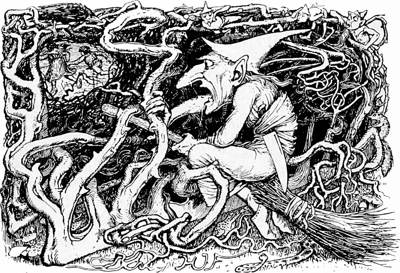 From the yellow fairy book by andrew lang 1906