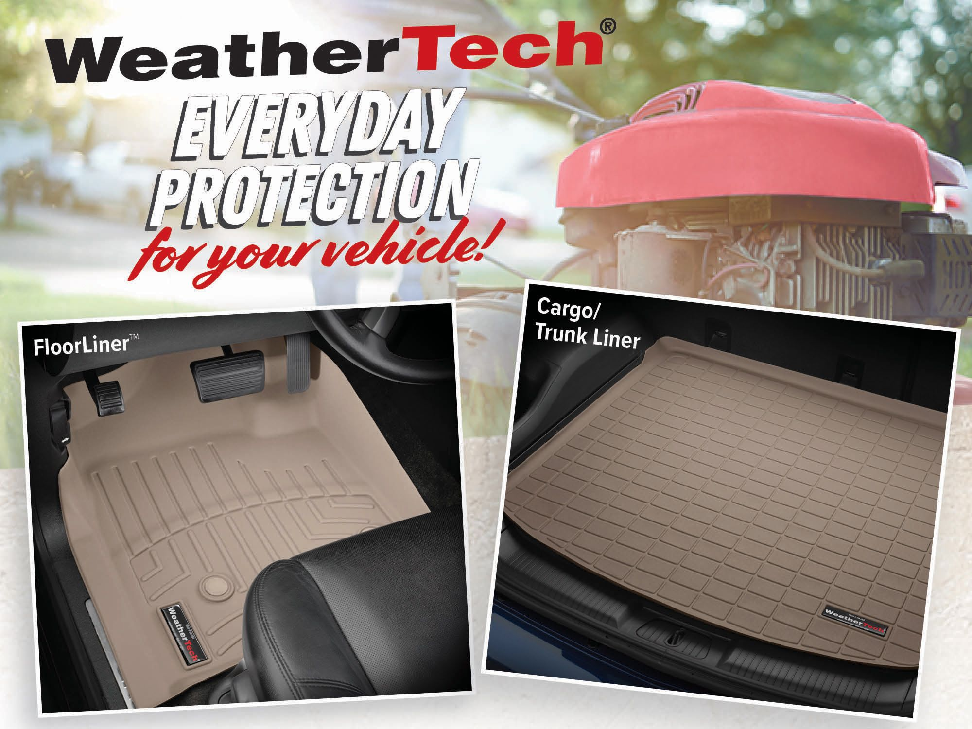 Get everyday protection for your vehicle at WeatherTech
