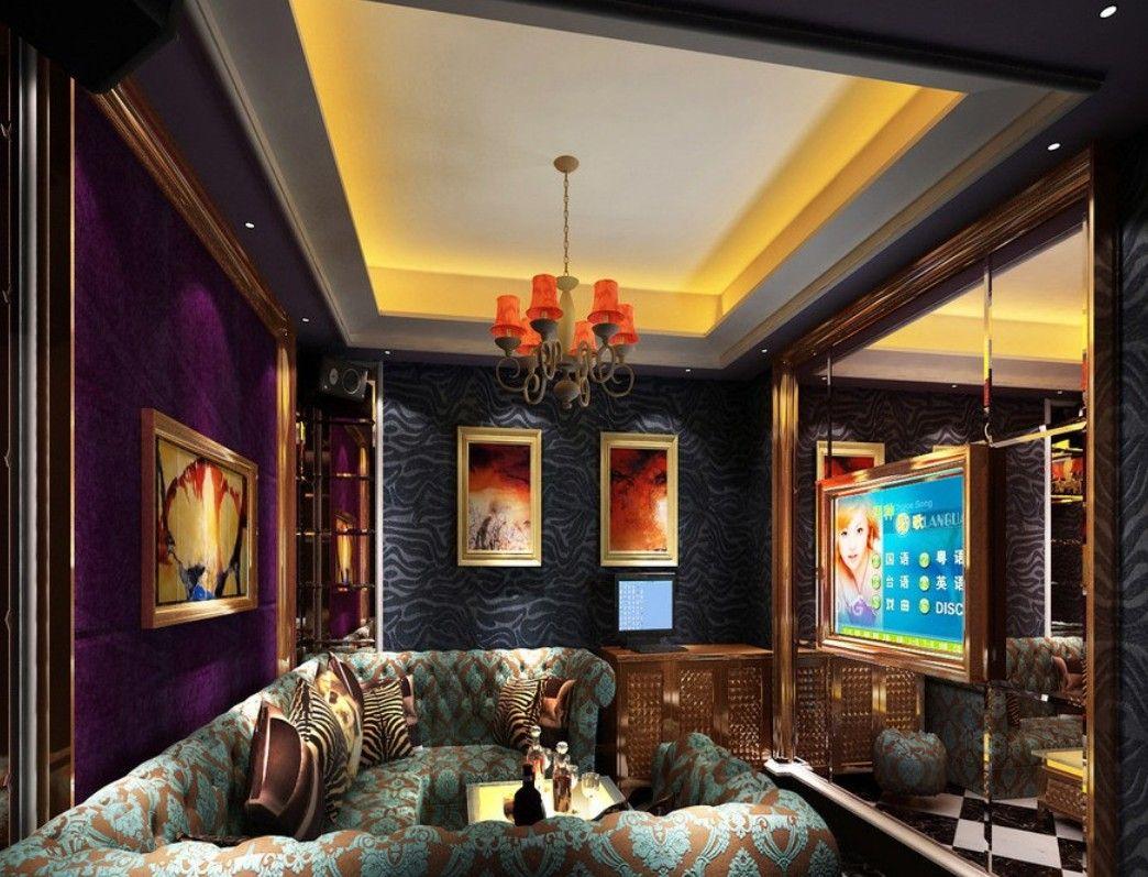 ktv room purple soft wall | ktv bar | pinterest | purple, walls