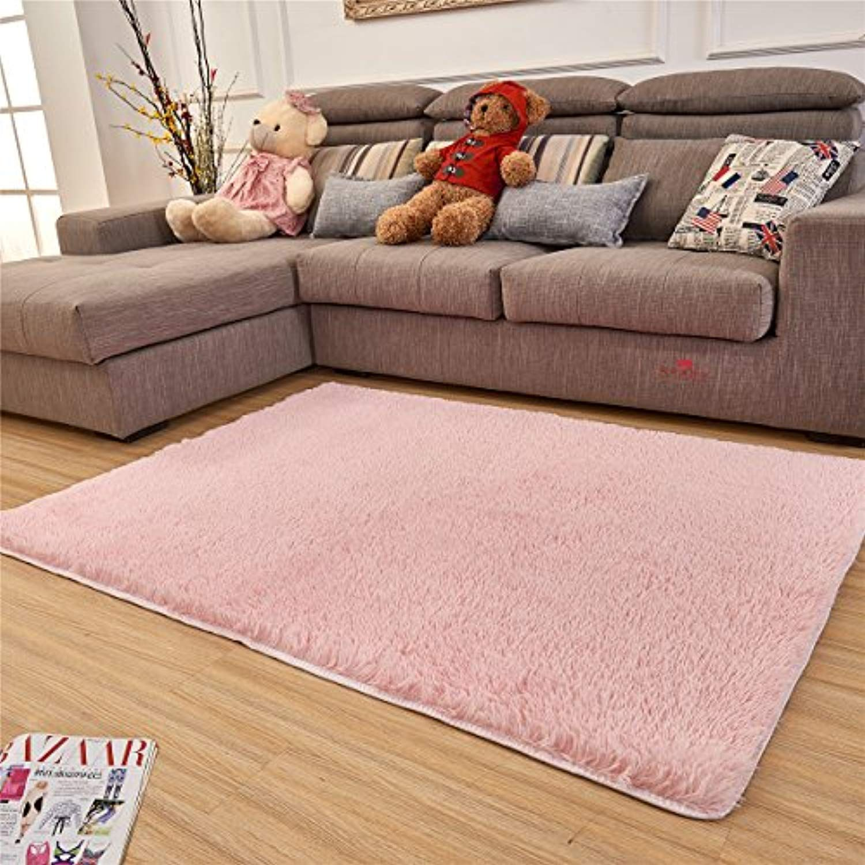 Ultra Soft Indoor Modern Area Rugs Fluffy Living Room Carpets Suitable For Children Bedroom Home Decor Nursery Rug Bedroom Area Rug Floor Rugs Living Room Mats