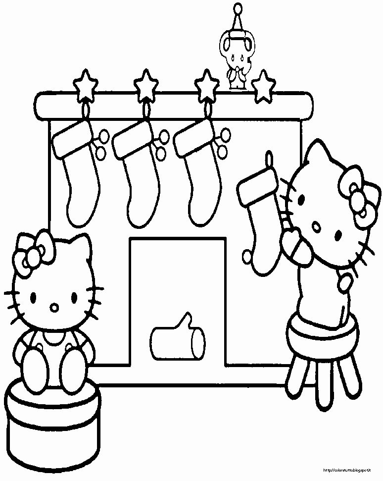 Christmas Kitty Coloring Pages Inspirational Hello Kitty Disegno Da Colorare N 15 Hello Kitty Coloring Kitty Coloring Hello Kitty Colouring Pages