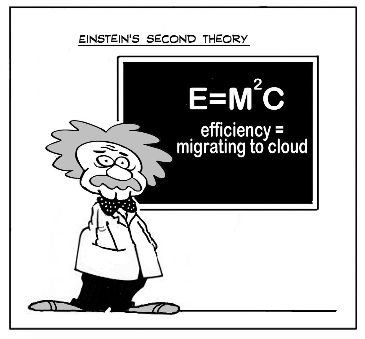 Einstein S Second Theory Cloudhumor