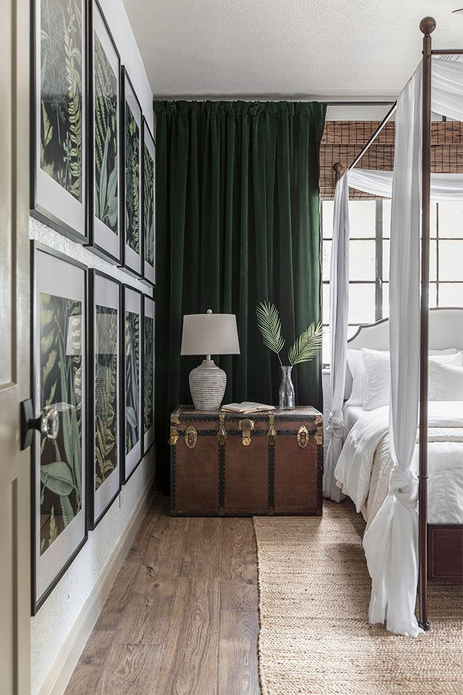Tropical Oasis Master Bedroom Reveal
