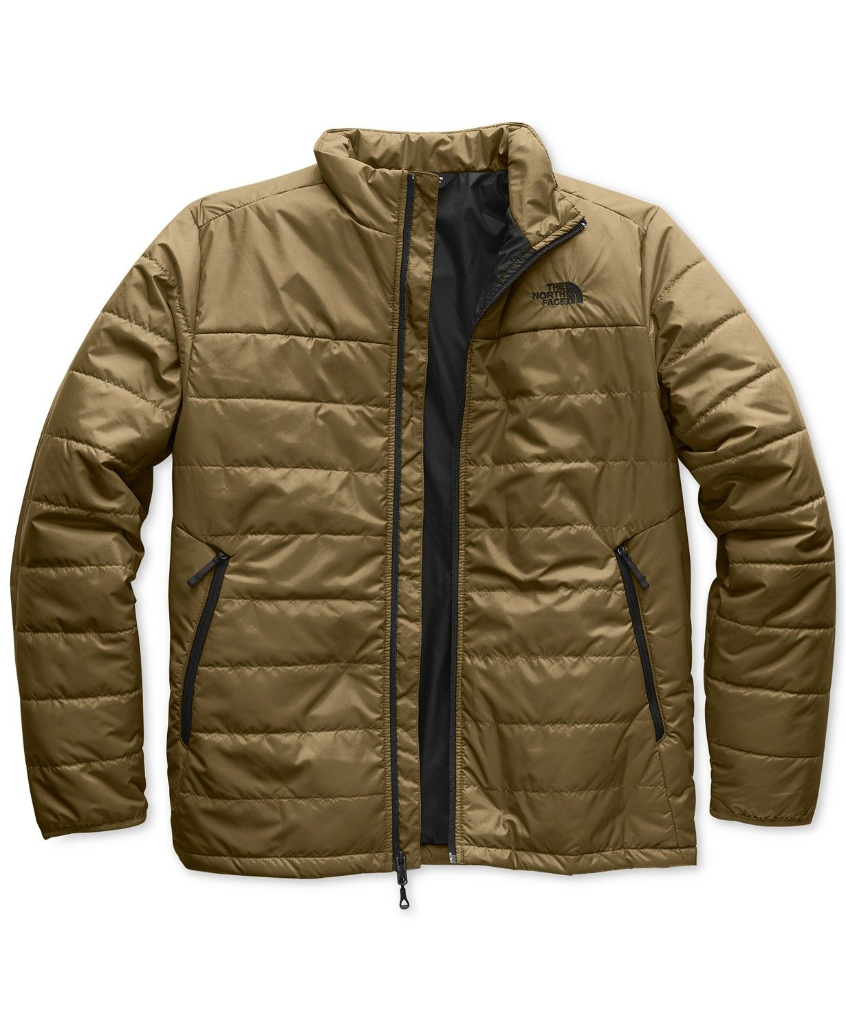 The North Face Men S Insulated Bombay Jacket Coats Jackets Men Macy S North Face Mens Mens Jackets Jackets [ 1500 x 1230 Pixel ]