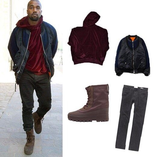 New York 2015 Jacket Takahiro Miyashita Flight Jacket 2265 Hoodie Haider Ackermann Burgundy Velour Pullover Bo Kanye West Family Flight Jacket Menswear